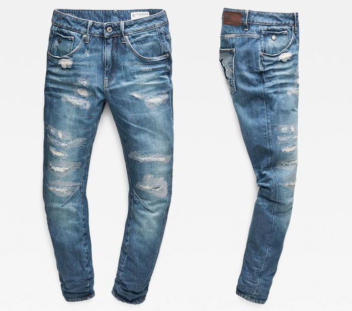 G-Star RAW Unveils their Most Sustainable Jeans Ever - Arc 3D Jeans