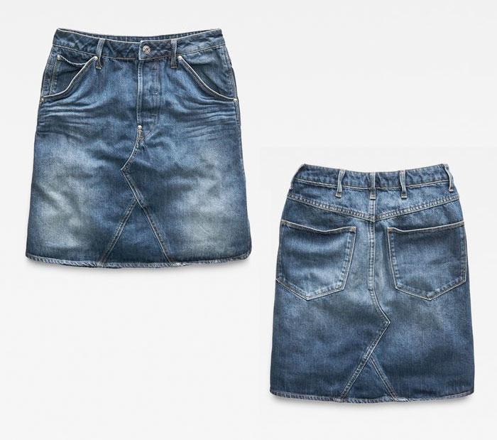 G-Star RAW Unveils their Most Sustainable Jeans Ever - Skirt