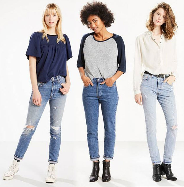 Modern meets Vintage with the Levi's 501 Skinny Jean - Jeans 1