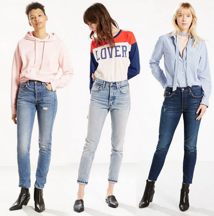 Modern meets Vintage with the Levi's 501 Skinny Jean - Jeans 2
