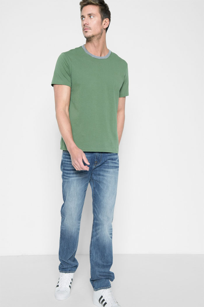New Rigid Styles by 7 For All Mankind - Men's Slimmy in Redemption Clean