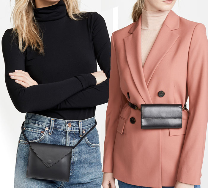 Versatile and Stylish Belt Bags for Everyday Convenience - Dressy Black Bags