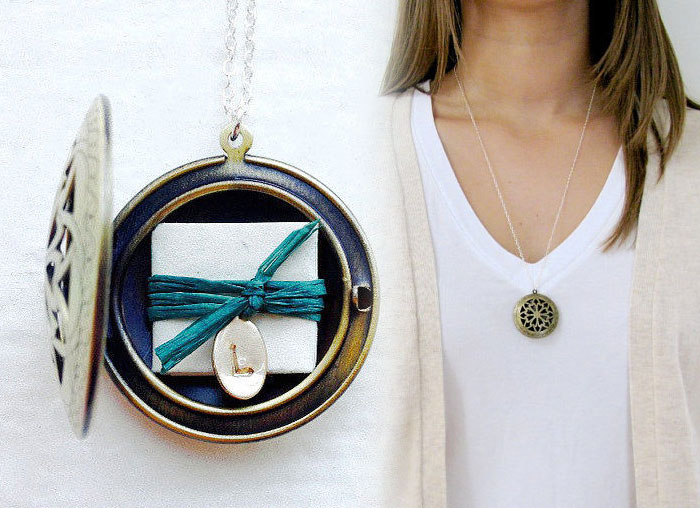 20 Unique Last Minute Mother's Day Gifts - Locket with Message Subscription
