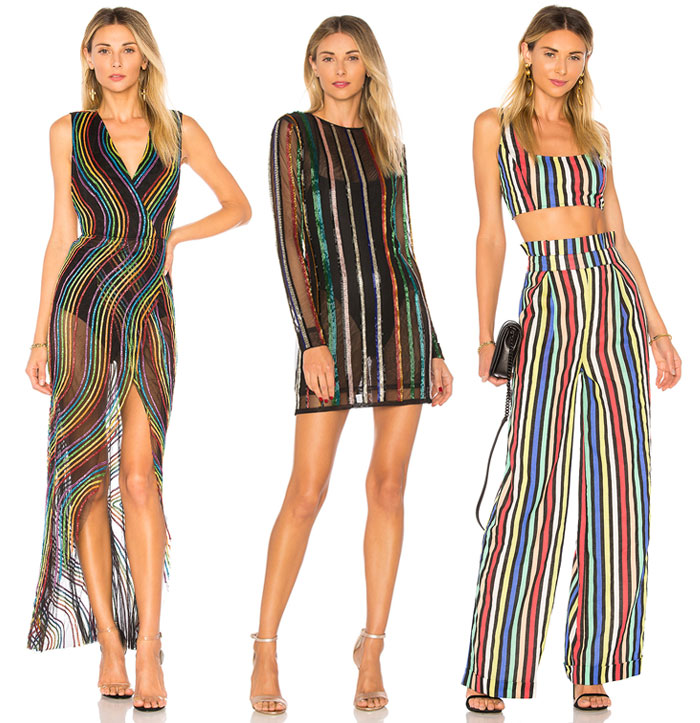 Chic Rainbow Pieces to Welcome Summer from Revolve - Dresses, pants, top
