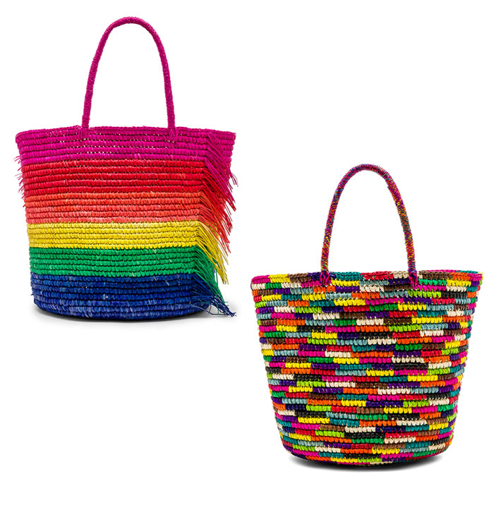 Chic Rainbow Pieces to Welcome Summer from Revolve - Totes