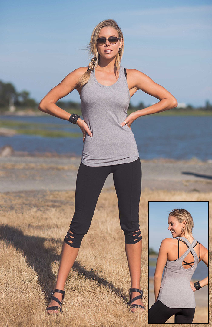 Spring Summer 2018 from Nomads Hemp Wear is Here! - Atom Tank and Foxtrot Leggings