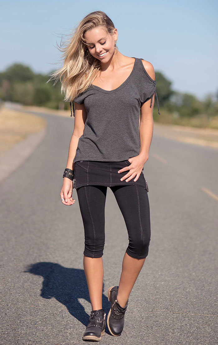 Spring Summer 2018 from Nomads Hemp Wear is Here! - Mystery Top and Satoshi Leggings