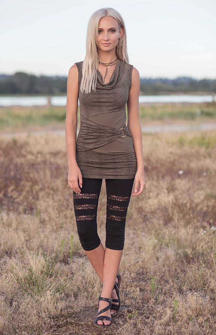 Spring Summer 2018 from Nomads Hemp Wear is Here! - Talisman Tunic and Juniper Leggings