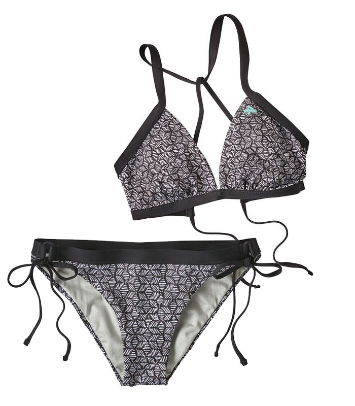 Sustainable and Fair Trade Swimwear from Patagonia Surf - Nanogrip Top and Bottoms
