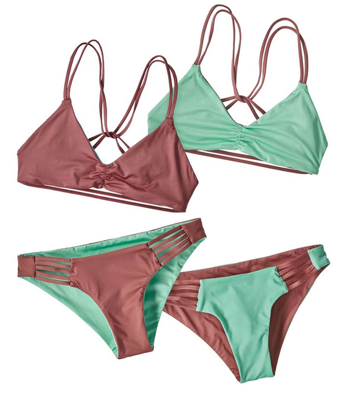 Sustainable and Fair Trade Swimwear from Patagonia Surf - Seaglass Bay Reversible