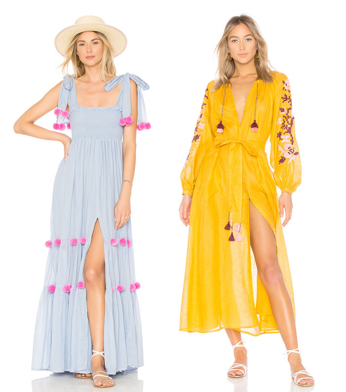 Get Into The Groove with the 70s Edit at Revolve - Tassel Dresses