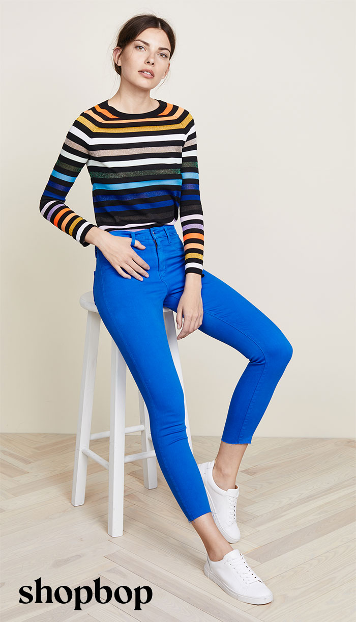 New Colored Jeans to Brighten Up Your Summer Wardrobe