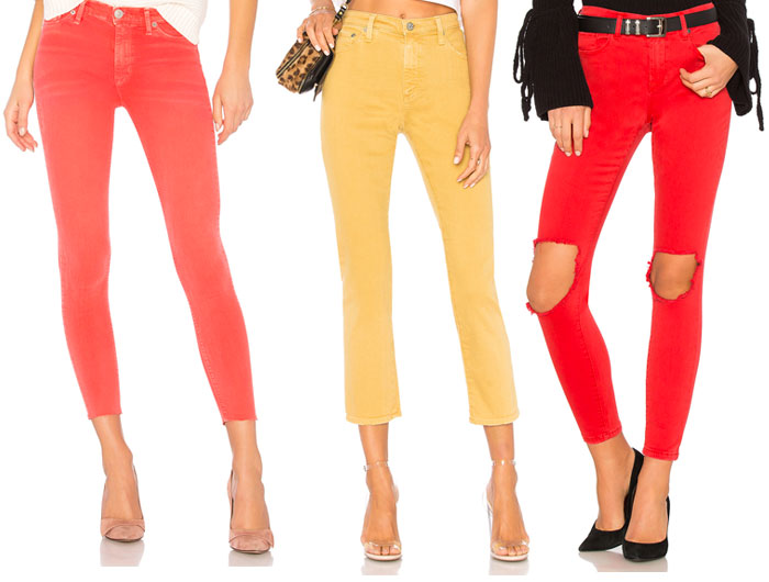 New Colored Jeans to Brighten Up Your Summer Wardrobe - Revolve