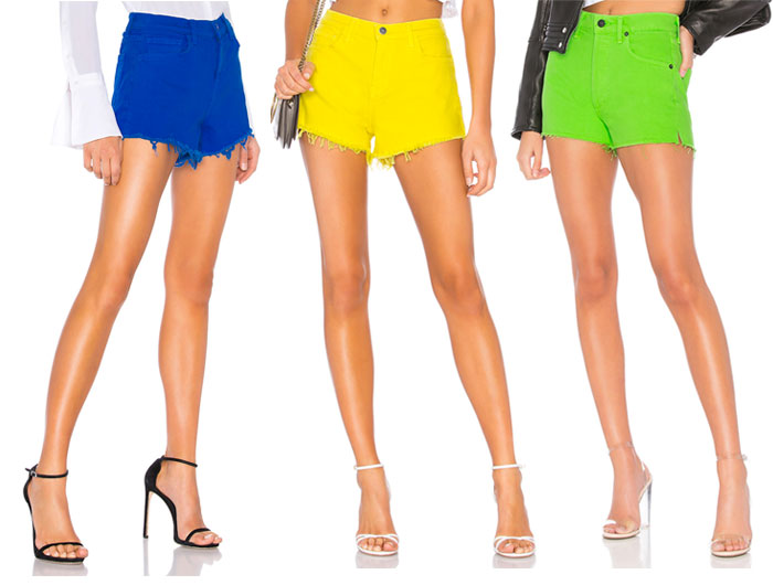 New Colored Jeans to Brighten Up Your Summer Wardrobe - Shorts