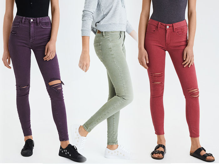 New Colored Jeans to Brighten Up Your Summer Wardrobe - American Eagle