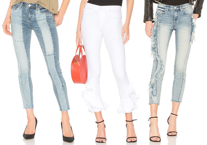 New Unique Denim Pieces for Summer from BLANKNYC - Jeans