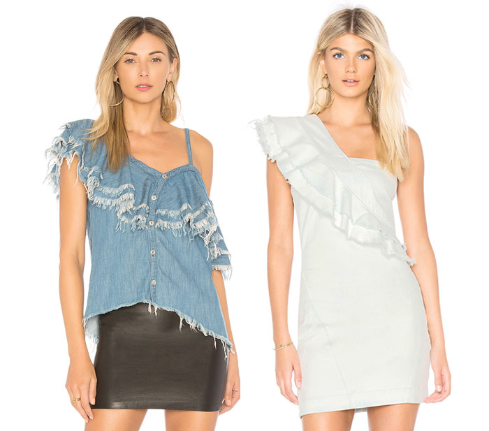 New Unique Denim Pieces for Summer from BLANKNYC - Top, Dress