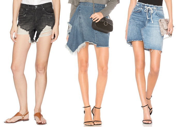 New Unique Denim Pieces for Summer from BLANKNYC - Shorts, Skirts