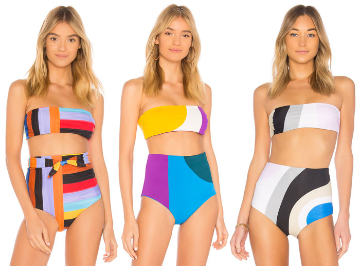 Bold Sustainable Swimwear from Mara Hoffman - Abigail Bikinis