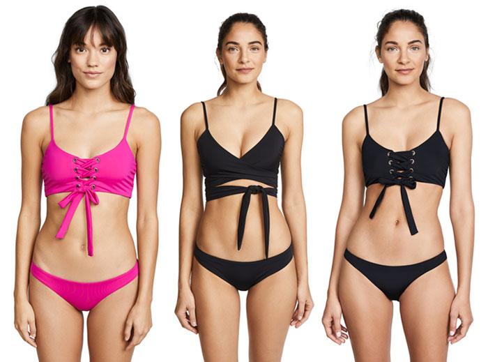 Bold Sustainable Swimwear from Mara Hoffman - Bikinis
