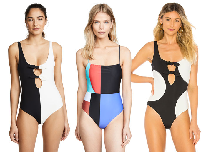 Bold Sustainable Swimwear from Mara Hoffman - One Pieces 2
