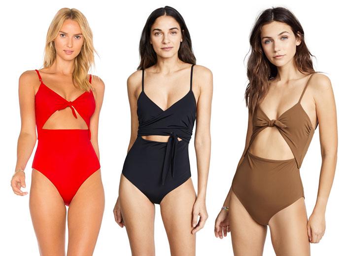 Bold Sustainable Swimwear from Mara Hoffman - Cutout