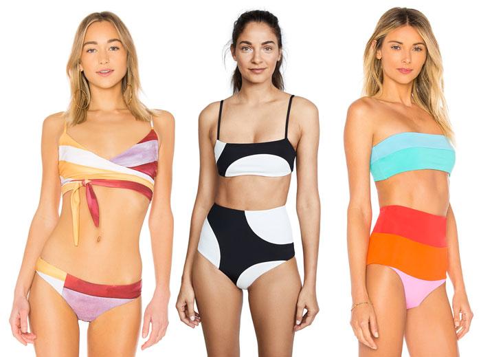 Bold Sustainable Swimwear from Mara Hoffman - More Bikinis