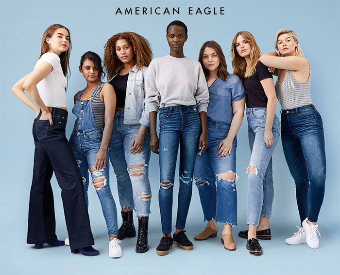 New Jeans for Your Unique Shape from American Eagle Outfitters