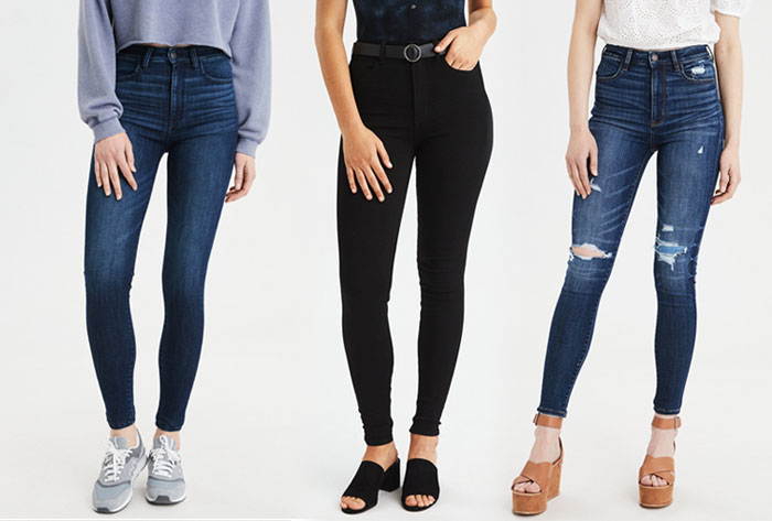 New Jeans for Your Unique Shape from American Eagle