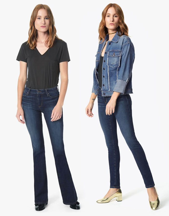 The New Hi Honey Denim Collection from Joe's  - Boot and Skinny