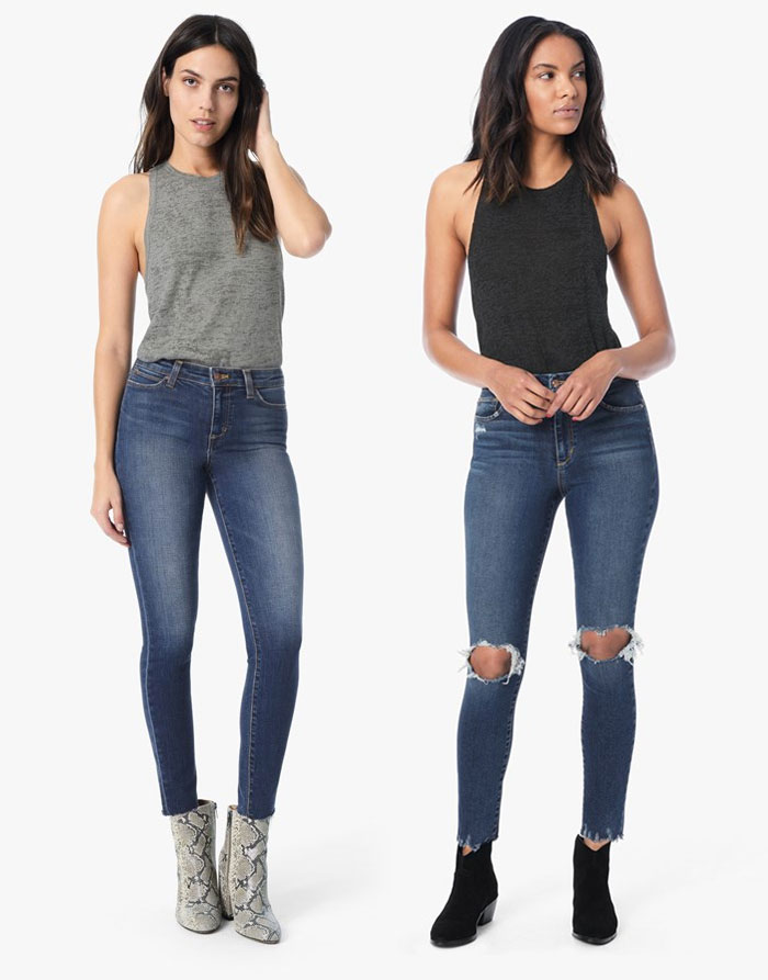 The New Hi Honey Denim Collection from Joe's  - Skinny and Ripped Skinny
