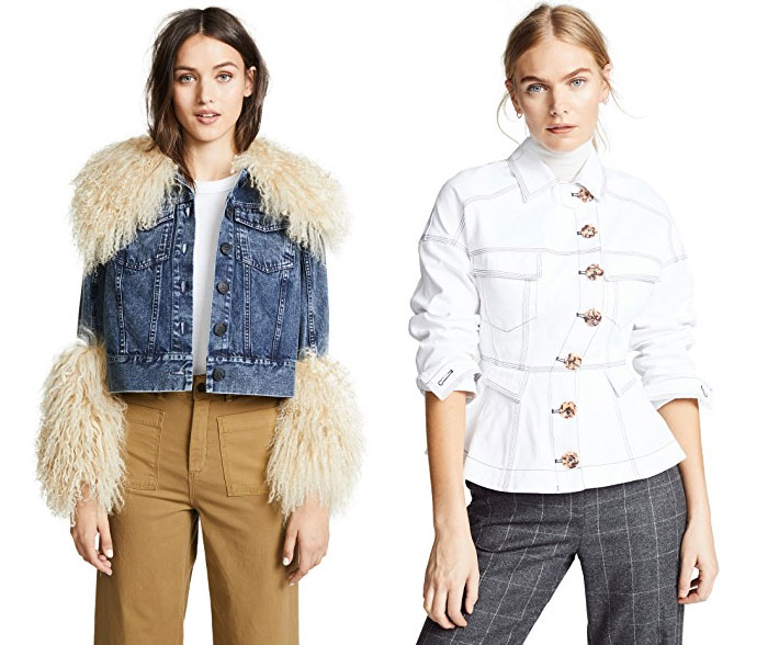 The Weirdest and Most Unique Denim at Shopbop - Jackets 2