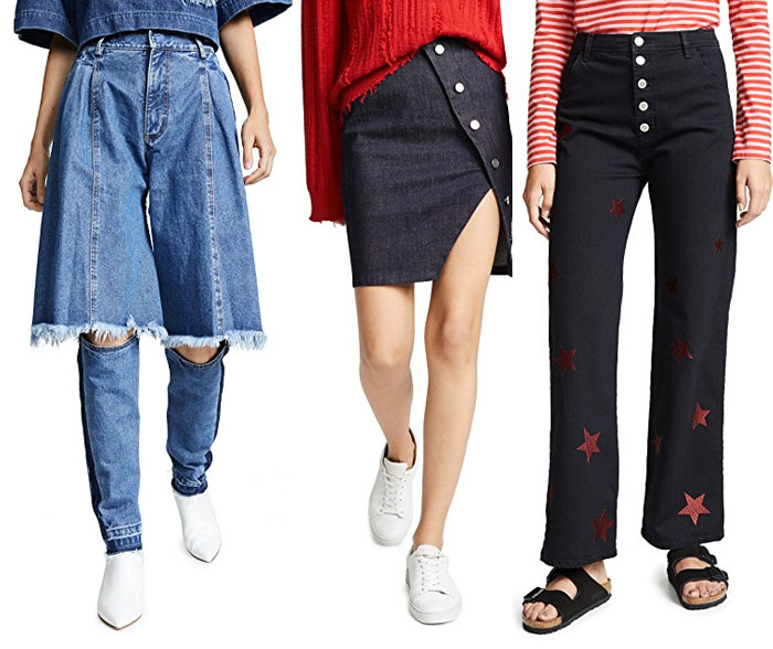 The Weirdest and Most Unique Denim at Shopbop - Jeans 5