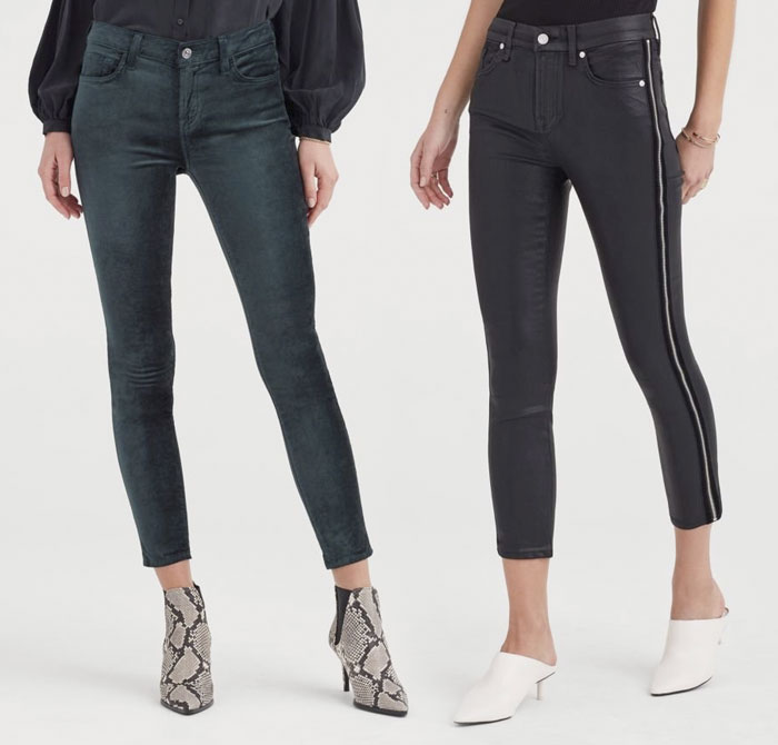 New Velvet Pieces for Fall from 7 For All Mankind - Pants 1