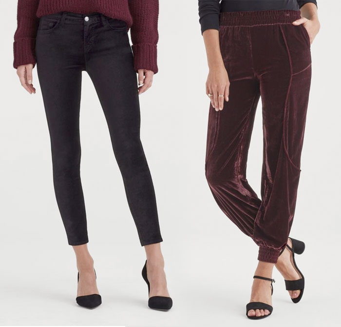 New Velvet Pieces for Fall from 7 For All Mankind - Pants 2