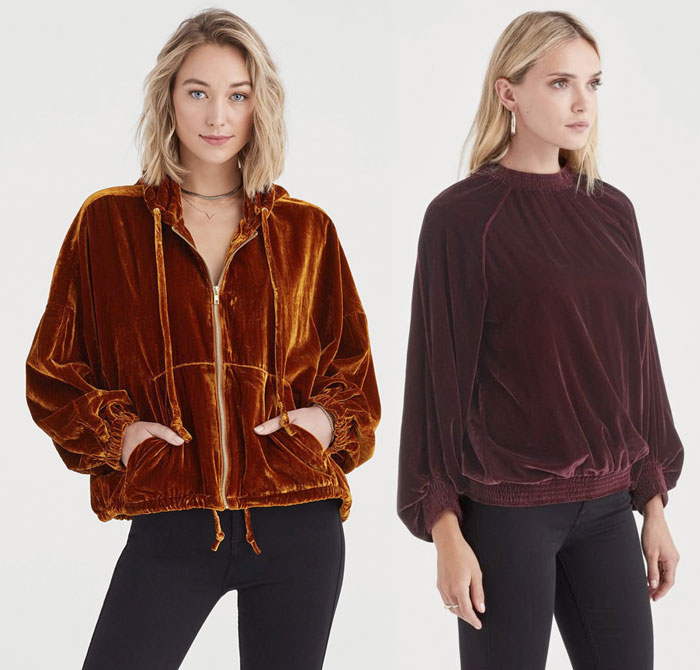 New Velvet Pieces for Fall from 7 For All Mankind - Sweaters