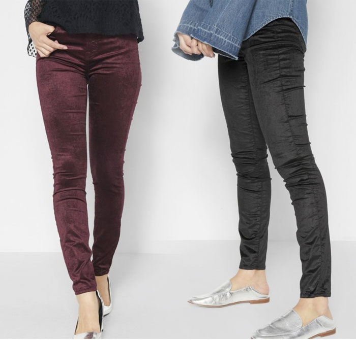 New Velvet Pieces for Fall from 7 For All Mankind - Pants 3