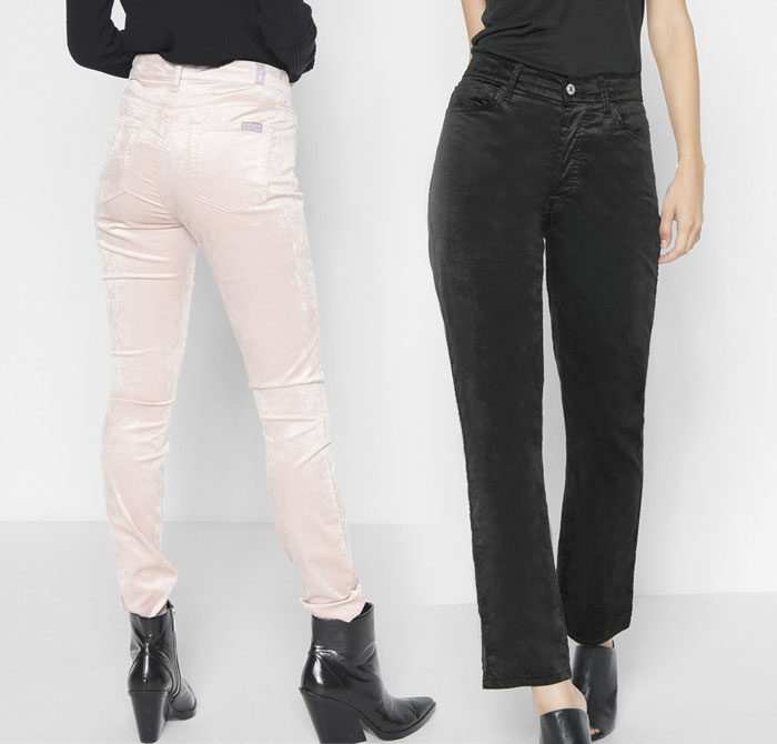 New Velvet Pieces for Fall from 7 For All Mankind - Pants 5