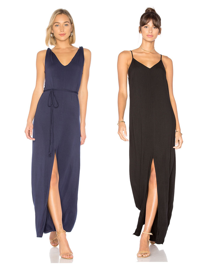 Ethical and Eco Friendly Wardrobe Essentials from LA Made - Maxi Dresses