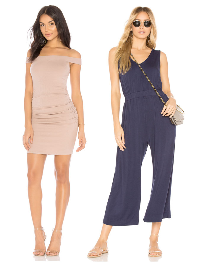 Ethical and Eco Friendly Wardrobe Essentials from LA Made - Dress and Jumpsuit
