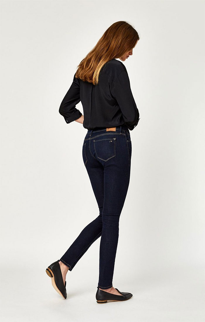 New Stylish and Soft Fall Denim Arrivals from Mavi - Alexa Skinny in Rinse Supersoft
