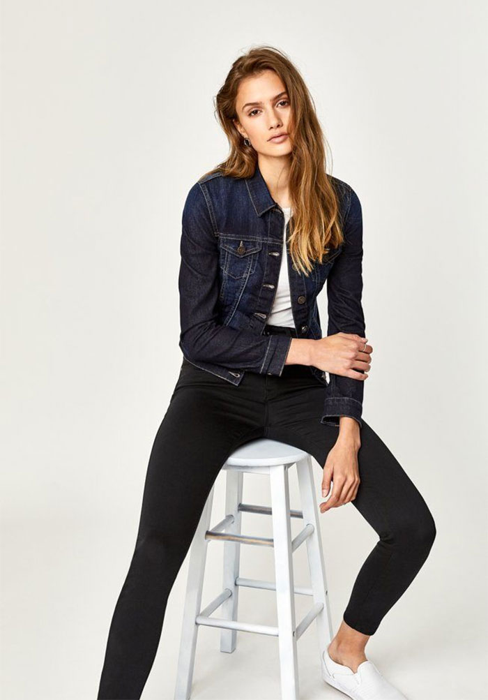 New Stylish and Soft Fall Denim Arrivals from Mavi - Samantha Jacket