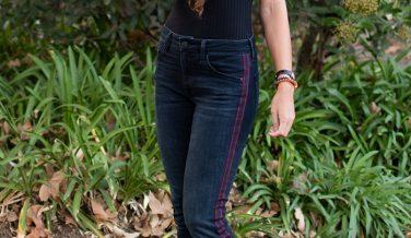 Mavi Jeans Tess Super Skinny in Ink Stripe Review