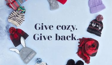 Buy a Winter Accessory and Give Back at American Eagle and Aerie