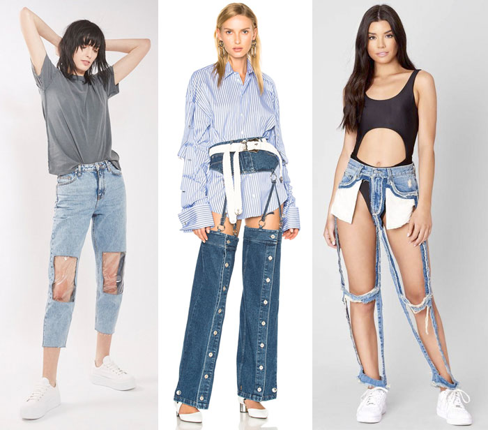Low Rise, Ribcage, and Asymmetrical Jeans Oh My - Other Crazy Trends