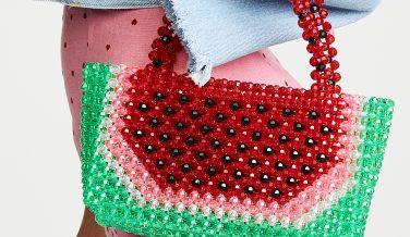 Super Cute Woven Beaded Bags by Susan Alexandra