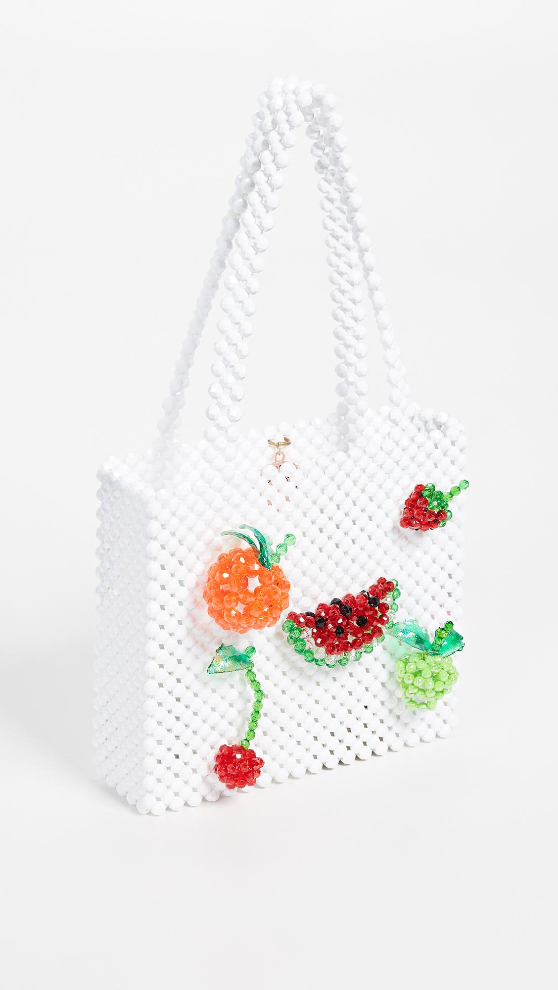 Super Cute Woven Beaded Bags by Susan Alexandra - Abundance Bag