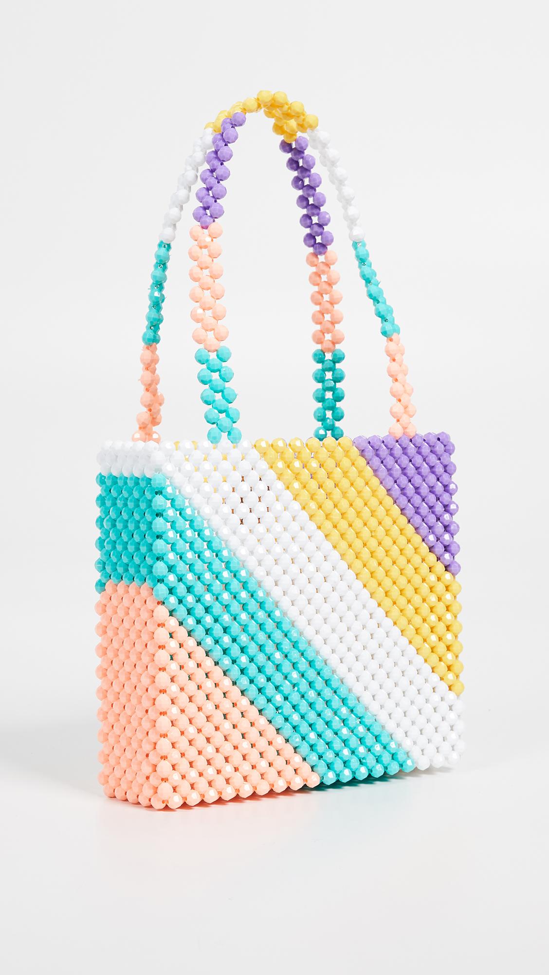 Super Cute Woven Beaded Bags by Susan Alexandra - Granita Bag