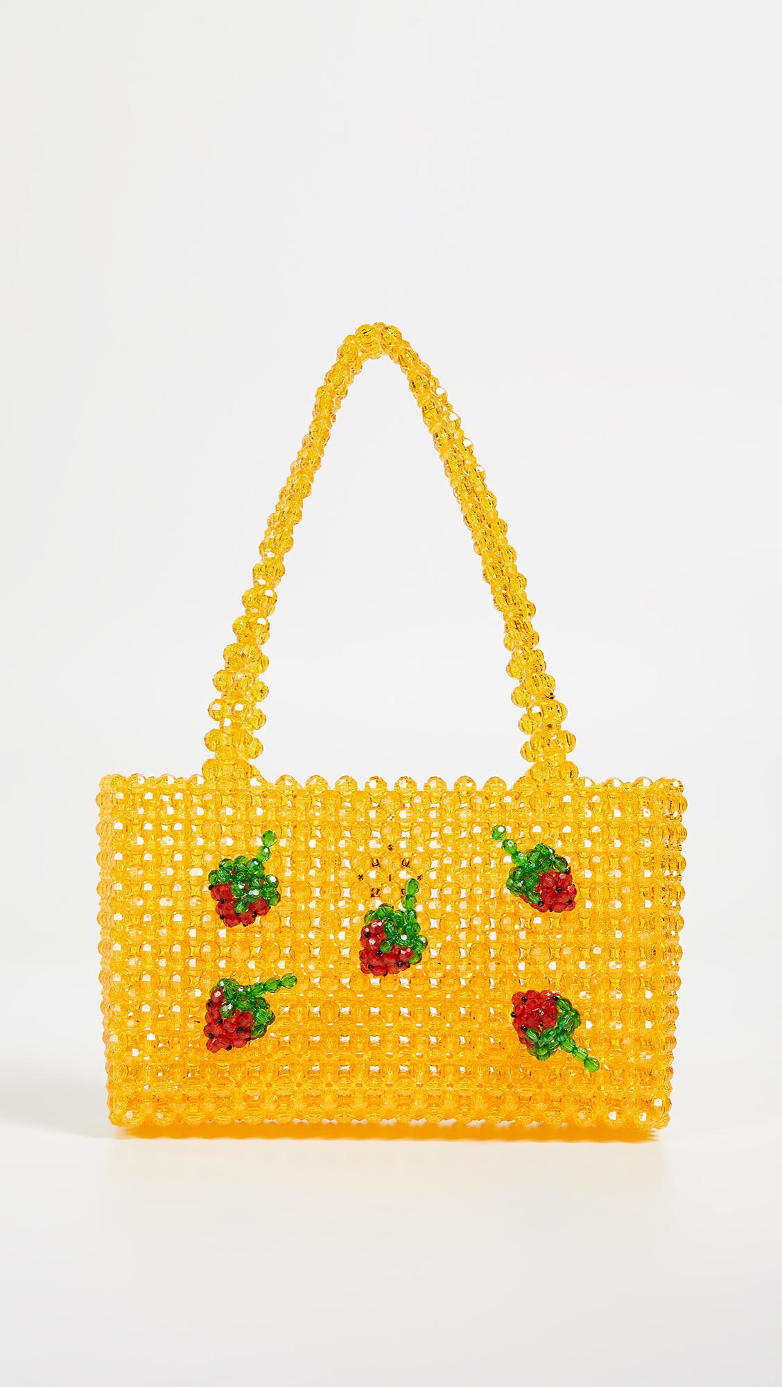 Super Cute Woven Beaded Bags by Susan Alexandra - Ichigo Bag