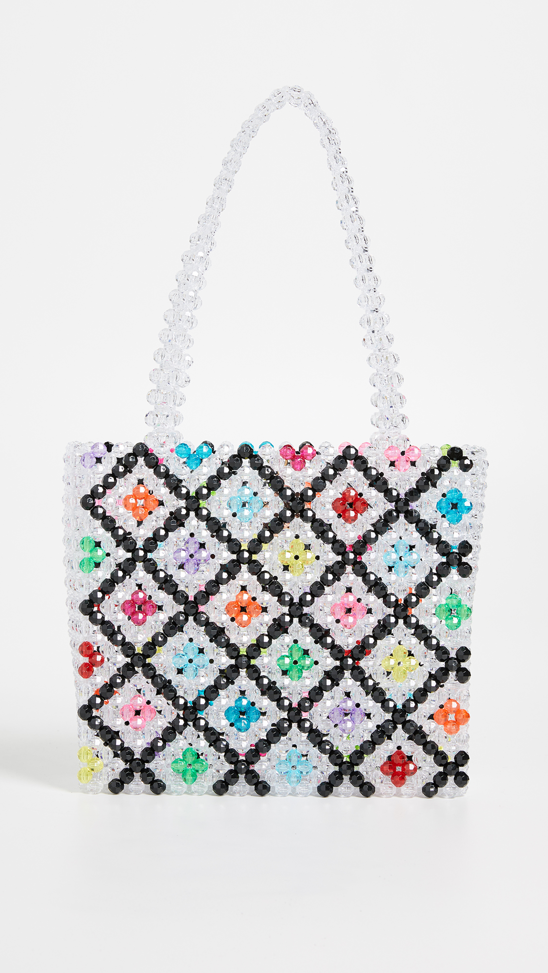 Super Cute Woven Beaded Bags by Susan Alexandra - Multi Bag